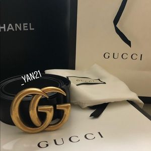 Gucci GG marmont belt size 100